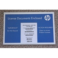 HP LO100I ADVANCED LIGHTS OUT 1-SERVER INCL 1-YEAR TS&U LICENSE 530521-B21