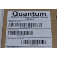 QUANTUM ADVANCED REPORTING LICENSE FOR SCALAR I3 LSC33-ALAR-001A