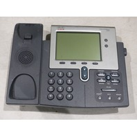 9* CISCO IP PHONE 7942 CP-7942G UNTESTED W/OUT PHONE HANDSET