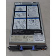 IBM HS21 BLADE 8853-AC1 1*INTEL 2.GHZ 2*4GB RAM 2*2GB RAM 1*QLOGIC QMI2472 CARD
