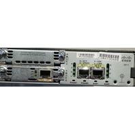 CISCO 2811 SECURITY ROUTER 128MB-E COMPACT FLASH CARD VWIC2-1MFT-T1/E1 CARD