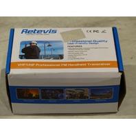 RETEVIS RT-5RV HANDHELD VHF/UHF PROFESSIONAL FM HANDHELD RADIO
