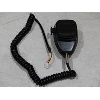 GENERIC HANDHELD CORDED RADIO MICROPHONE BLACK