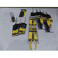 KLEIN TOOL SET PLIER SCREW DRIVER & MORE 614-4 604-6 31852 85091 44200 D203-7