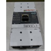 SIEMENS TYPE HMG CIRCUIT BREAKER HMX3T800  800 AMP 600V 3PH MOLDED CASE VL