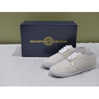 THE BRADFORD EXCHANGE CHRISTIAN FOOTPRINTS IN THE SAND CANVAS SHOES WOMENS 7.5