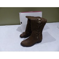 SO AUTHENTIC AMERICAN HERITAGE REPLY DARKBROWN WOMENS BOOTS SIZE 6