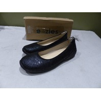 EAZIES BLACK PAISLEY 11 M WOMENS JOYFUL EAZ-F17-10-01 BLACK