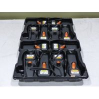 LOT OF 15* DATASCAN HANDHELD 802.11 MODULE BARCODE INVENTORY SCANNER & 2* CR8000