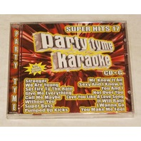 PARTY TYME KARAOKE: SUPER HITS 17 CD+G SYB-1109 LYRIC BOOK INCLUDED