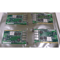 LOT OF 4* INTEL C84206-001 TUNDRA TSI310 PCI-X QUAD EHTERNET PORT SERVER ADAPTER