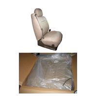 NISSAN ALTIMA S/SE 4D 02 03 04 2002 2003 2004 LEATHER SEAT COVER GRAPHITE $800