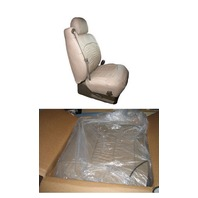 HONDA CIVIC 4D SE/LX 01-02 LEATHER SEAT COVERS GRAPHITE