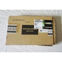 LEXMARK DEVELOPER BLACK 675K085030 NEW