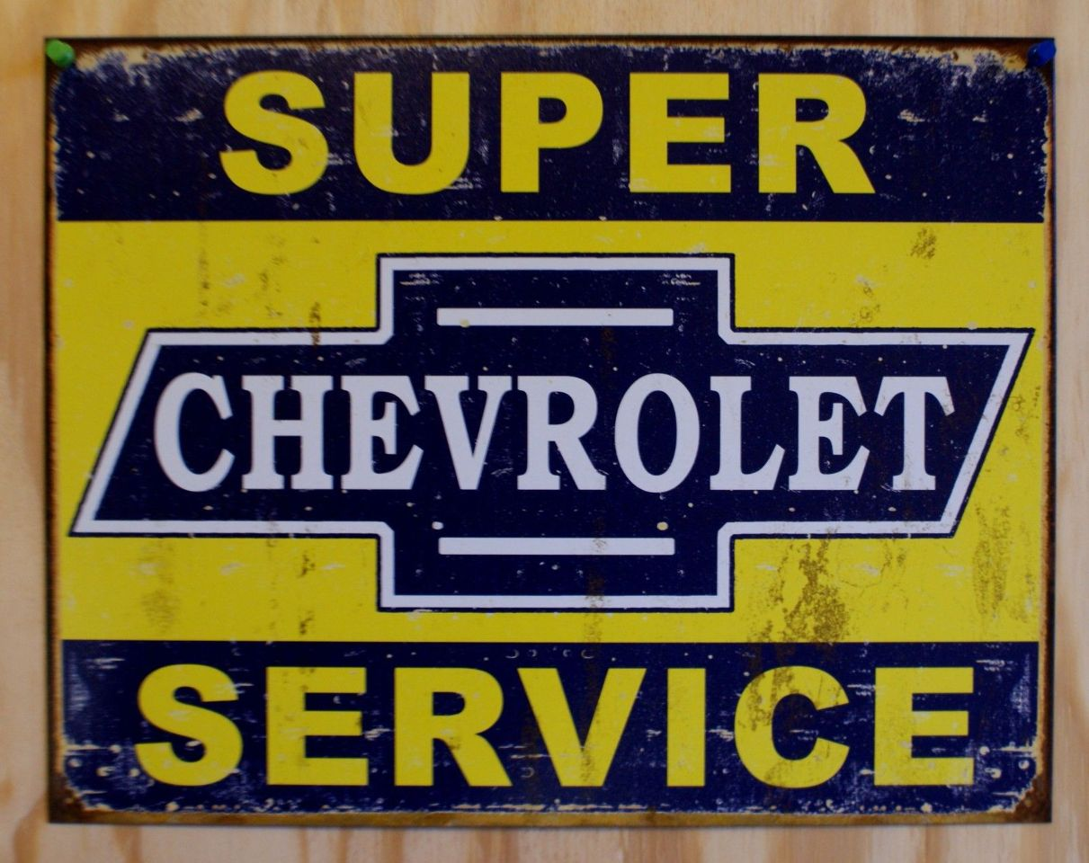 New Camaro St Street Sign Embossed Metal Garage Office Man Cave Chevy Chevrolet