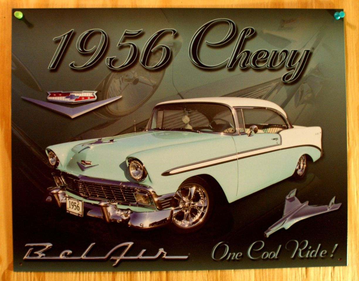 Chevy Tin Signs Metal Chevy Signs 2019 04 19