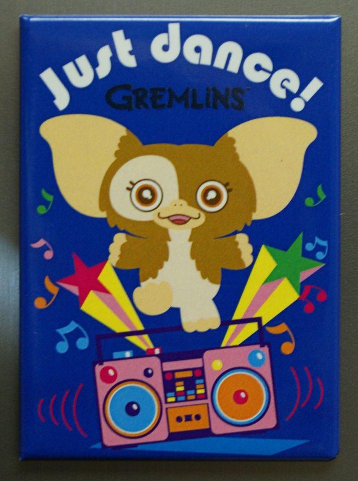 Just Dance Gremlins Refrigerator FRIDGE MAGNET Gizmo Boombox Cartoon 1980's  L29
