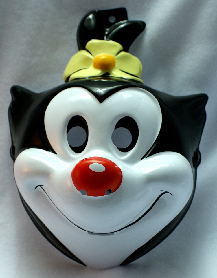 Adult Size Tiny Toons Animaniacs Dot Halloween Mask Looney Toons Cartoon Girl