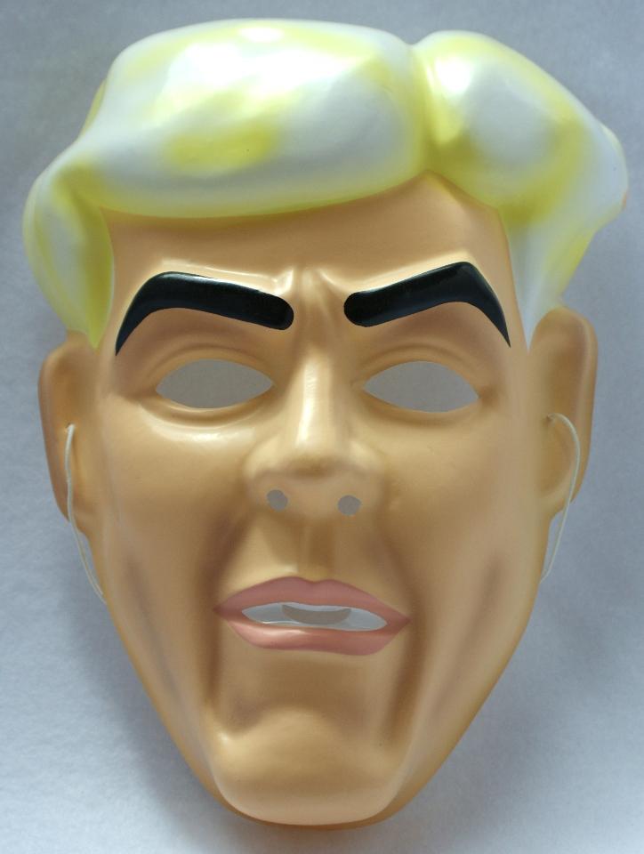 Vintage WWF Ric Flair Halloween Mask WWE WCW 1991 Wrestling Y008