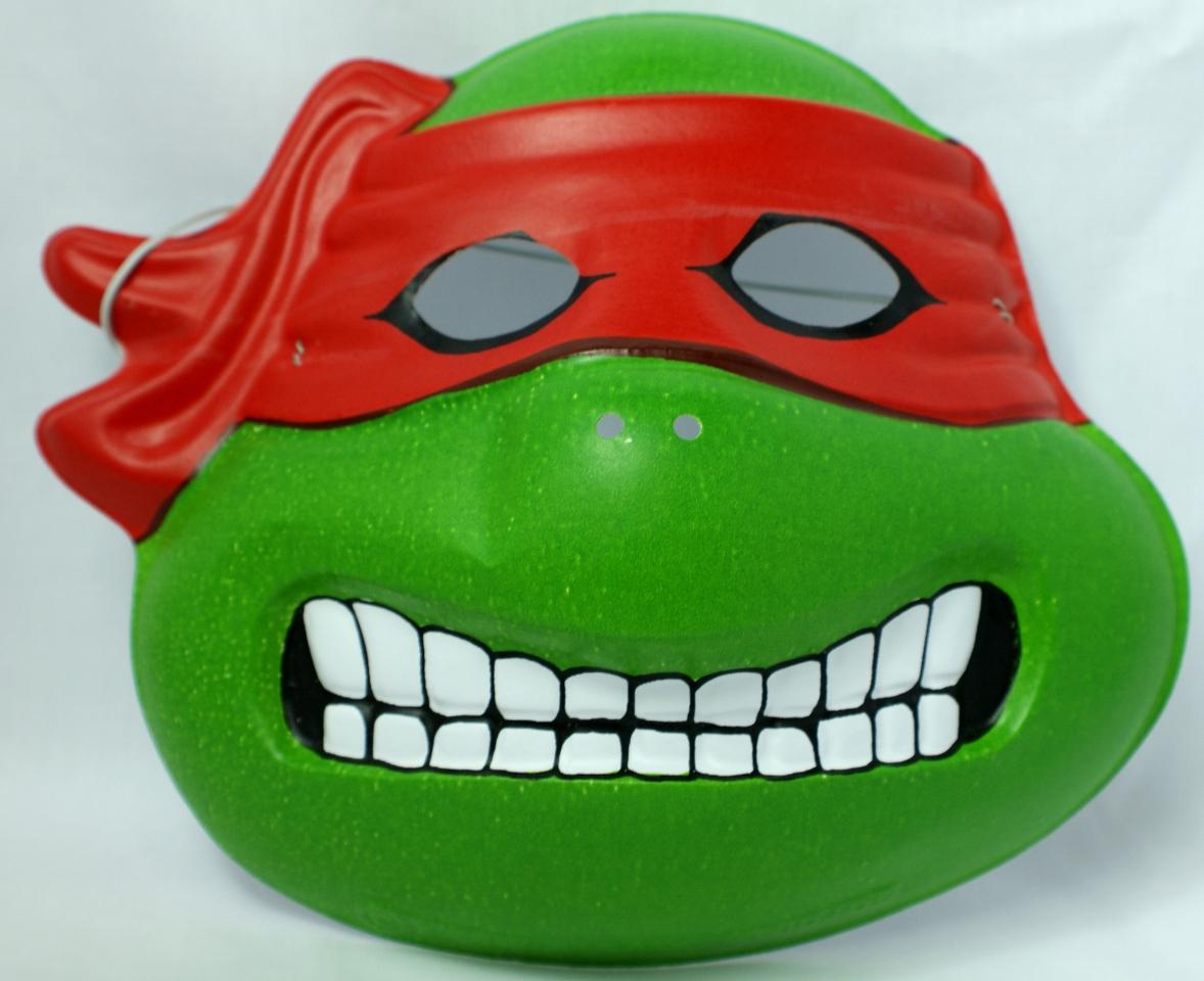 Vintage Raphael Teenage Mutant Ninja Turtles Halloween Mask Mirage Studios Y083
