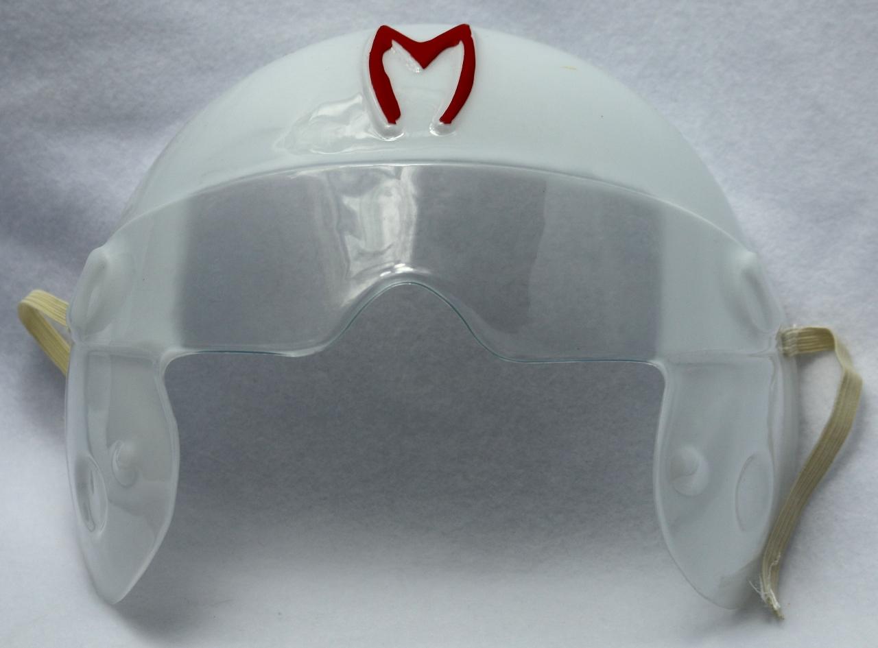 Speed Racer Vintage Halloween Mask Costume Cartoon PVC Enterprise Y091