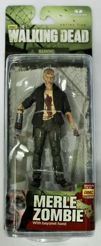 AMC Walking Dead Merle Dixon Zombie Action Figure Series 5 McFarlane Toy