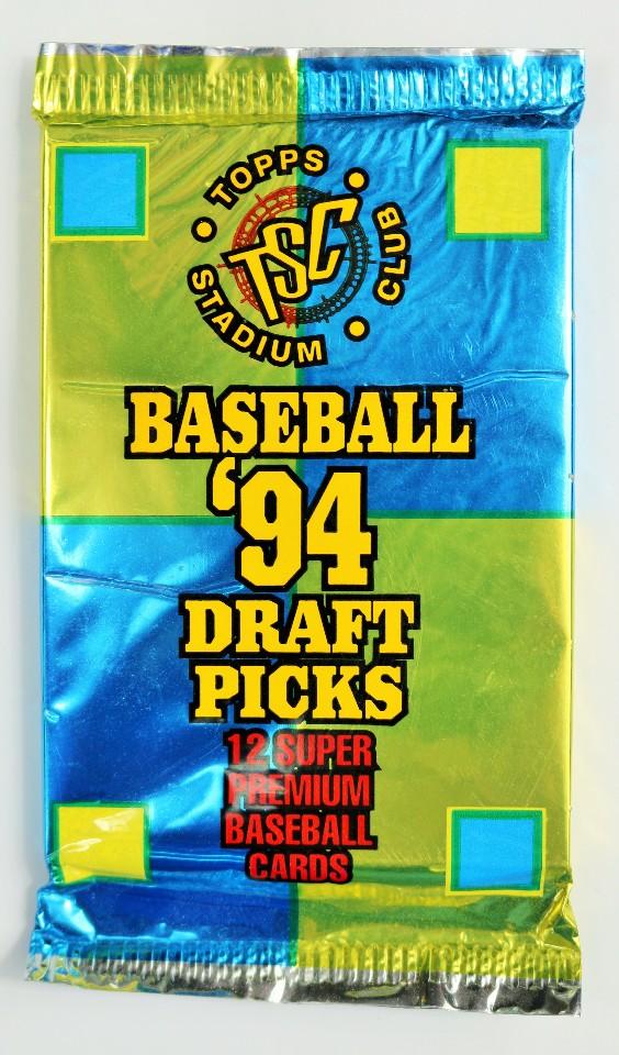 Vintage 1994 Topps Stadium Club Draft Picks Baseball Trading Cards MLB 94