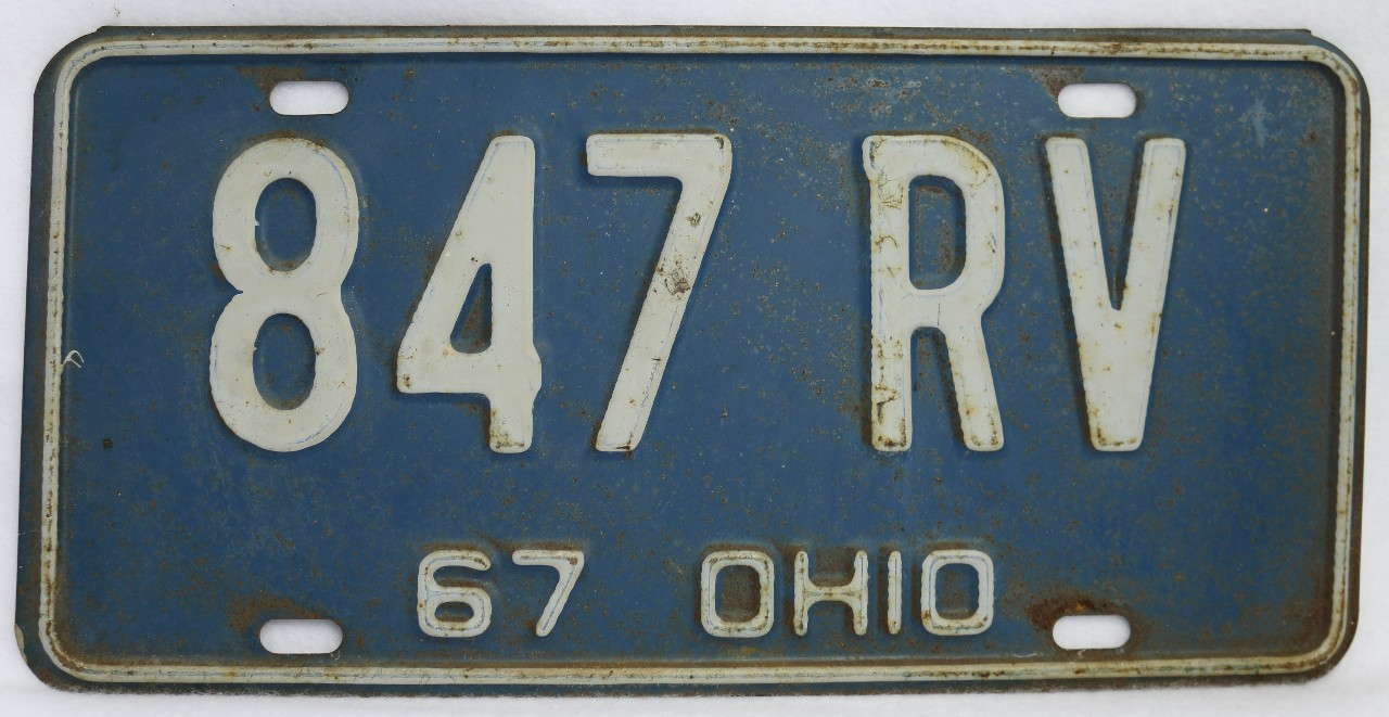 license plate and car history