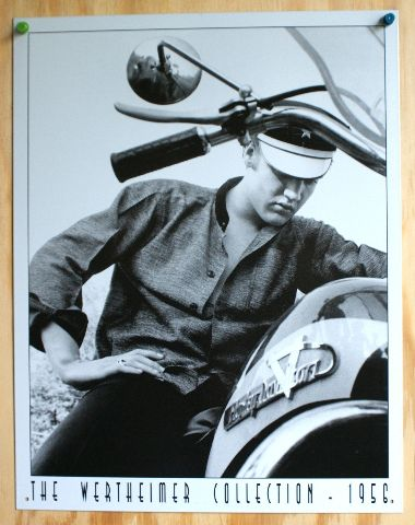 Elvis Presley Harley Davidson Tin Sign Graceland Sun Records Motorcycle HD F51