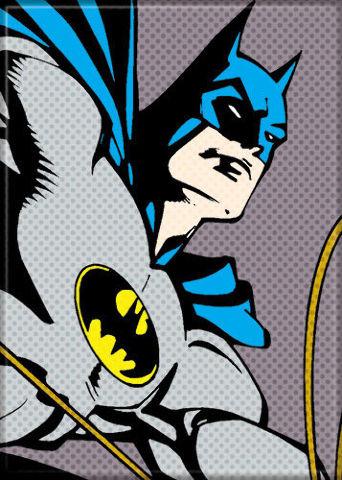 Batman Pixel pop art comic book style DC detective Super hero FRIDGE MAGNET G18