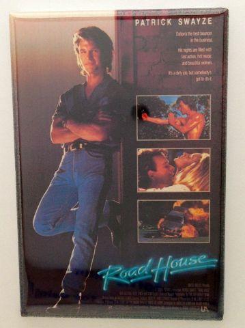 Road House Movie Poster MAGNET Patrick Swayze refrigerator FRIDGE MAGNET D11