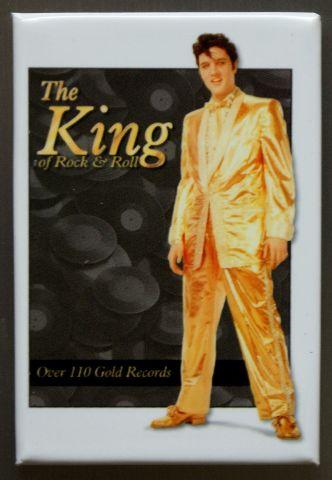 Elvis Presley The King FRIDGE MAGNET Music Movie Icon 1950's Singer Diner F1