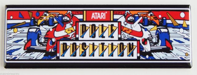 Atari Pole Position FRIDGE MAGNET Arcade Video Game Marquee Nintendo Racing LB11