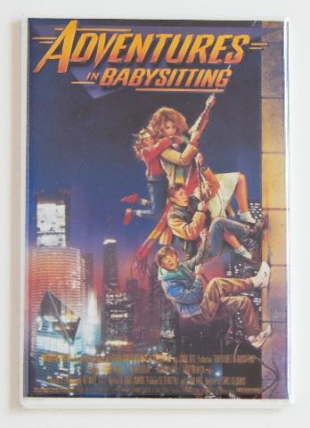 Adventures in Babysitting movie poster refrigerator FRIDGE MAGNET comedy R3