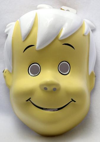 The Flintstones Bamm Bamm Halloween Mask Large Adult Size Hanna Barbera