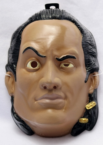 The Scorpion King Halloween Mask Universal Studios The Rock Dwayne Johnson Y133