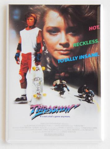 Thrashin movie poster FRIDGE MAGNET retro 80s Skateboard skate magnet