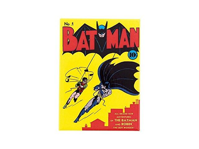 Batman & Robin The Wonder Boy No 1 FRIDGE MAGNET DC Comics Vintage Style N15