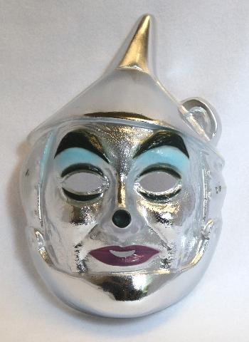 Vintage Wizard of Oz The Tin Man Halloween Mask Movie Hollywood Y095