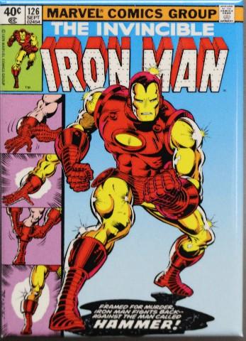 The Invicible Iron Man FRIDGE MAGNET Marvel Comics Comic Book Stark Avenger C31