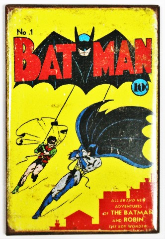 Batman no.1 FRIDGE MAGNET Vintage Style Comic Book DC Comics Robin J6