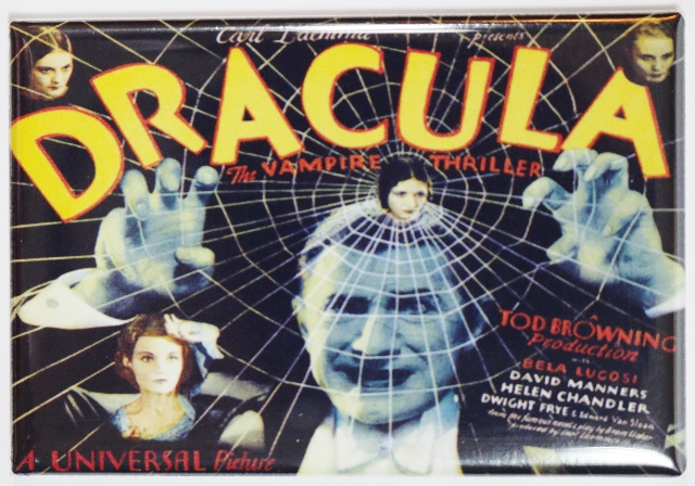 Dracula Bela Lucosi 1931 Movie Poster FRIDGE MAGNET Vampire Monster