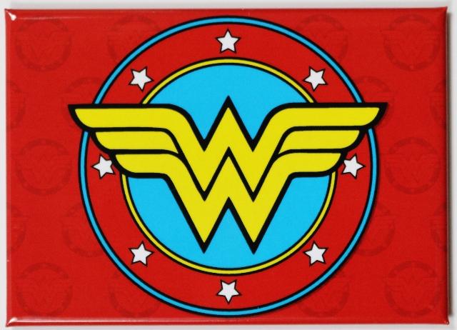 Wonder Woman  Logo FRIDGE MAGNET DC Comics Justice League Comic Book Hero K21