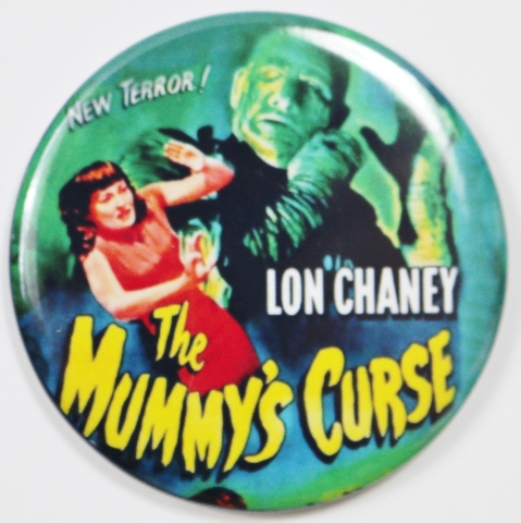 The Mummys Curse Movie Poster FRIDGE MAGNET Lon Chaney Monster Film Horror 2 1/4