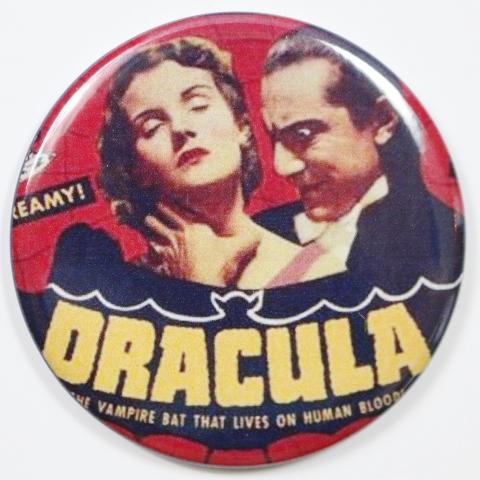 Bella Lugosi Dracula Movie Poster FRIDGE MAGNET Monster Film Sci Fi Horror 2 1/4