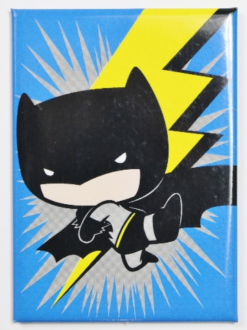 Chibi Batman FRIDGE MAGNET Comic Book DC Comics Cape Crusader Gotham N14