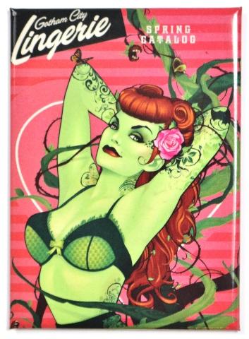 DC Bombshells Poison Ivy FRIDGE MAGNET Comic Book DC Comics Batman Animated Series