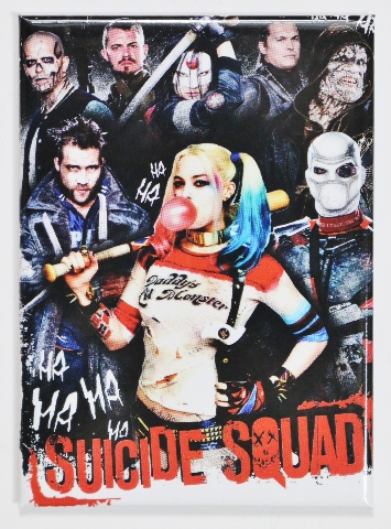 Suicide Squad Joker Harley Quinn FRIDGE MAGNET DC Comics Batman i20