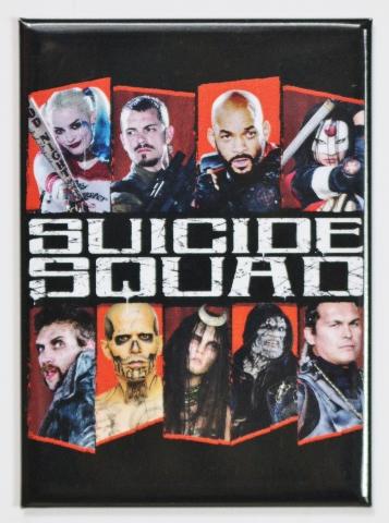 Suicide Squad Joker Harley Quinn FRIDGE MAGNET DC Comics Batman Robin H19