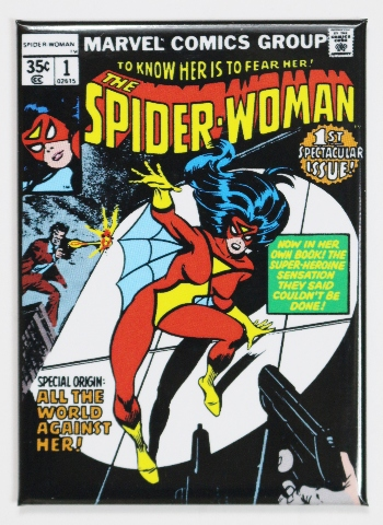 The Spider Woman #1 FRIDGE MAGNET Marvel Comics Spiderman Spiderwoman L19